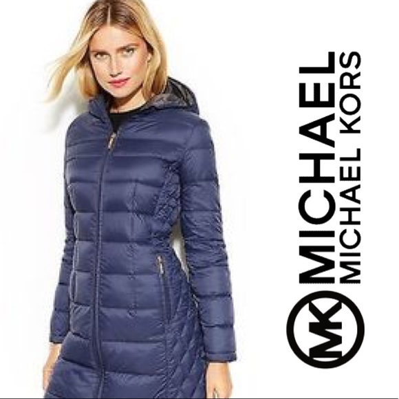ebd904e484e3 Michael Kors Packable Down Coat. M 5b85ba6134e48a7c76320299. Other Jackets    Coats ...